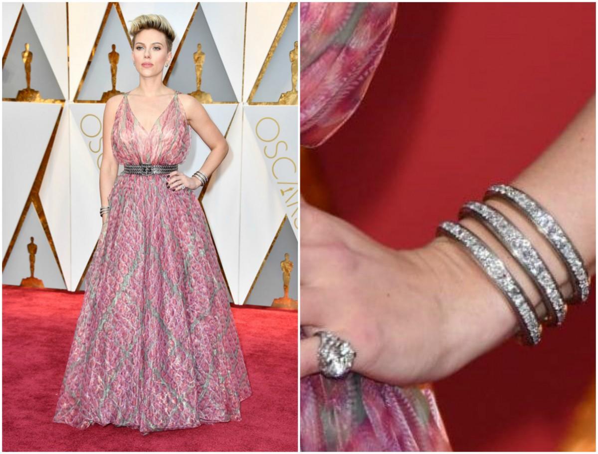 Scarlet Johansson Oscars 2017