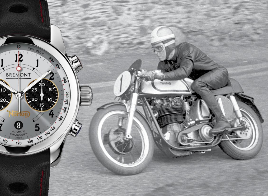 Bremont V4RR Norton Timepiece