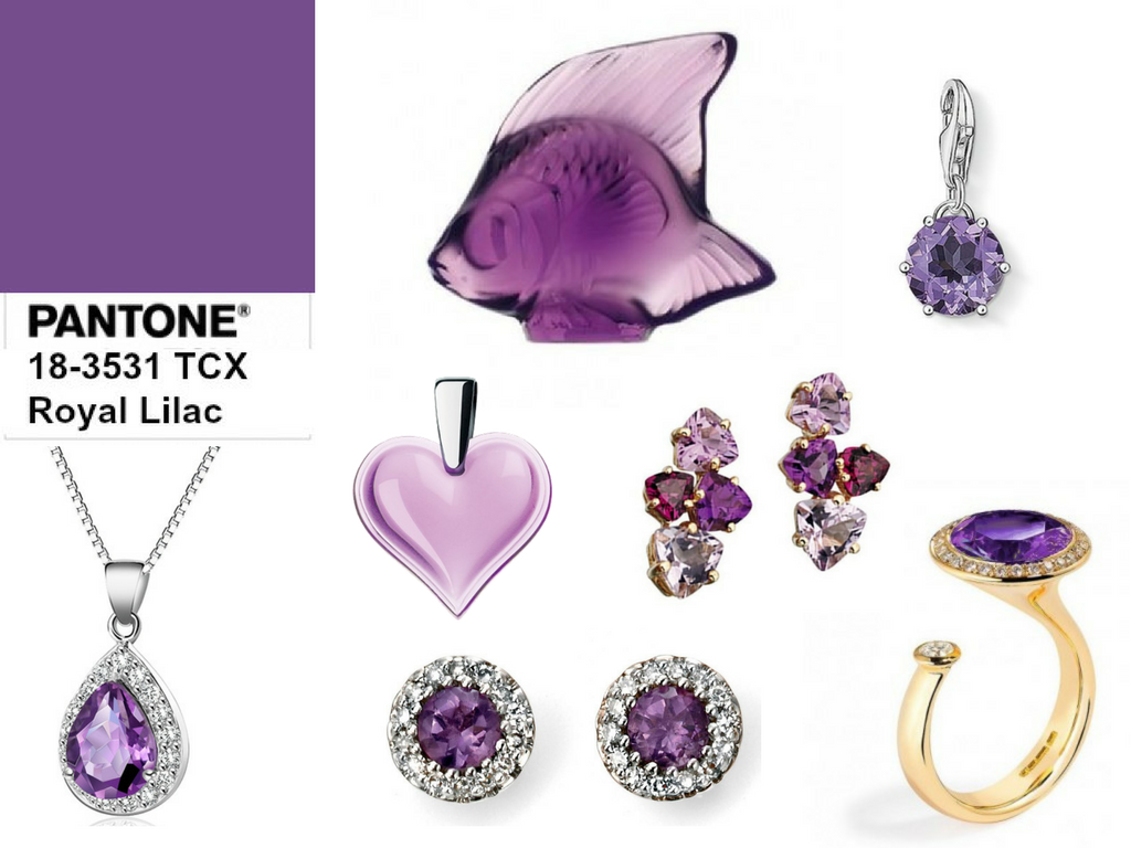 Royal Lilac Jewellery