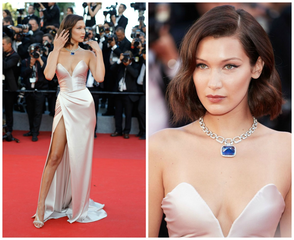 Bella Hadid Cannes 2017