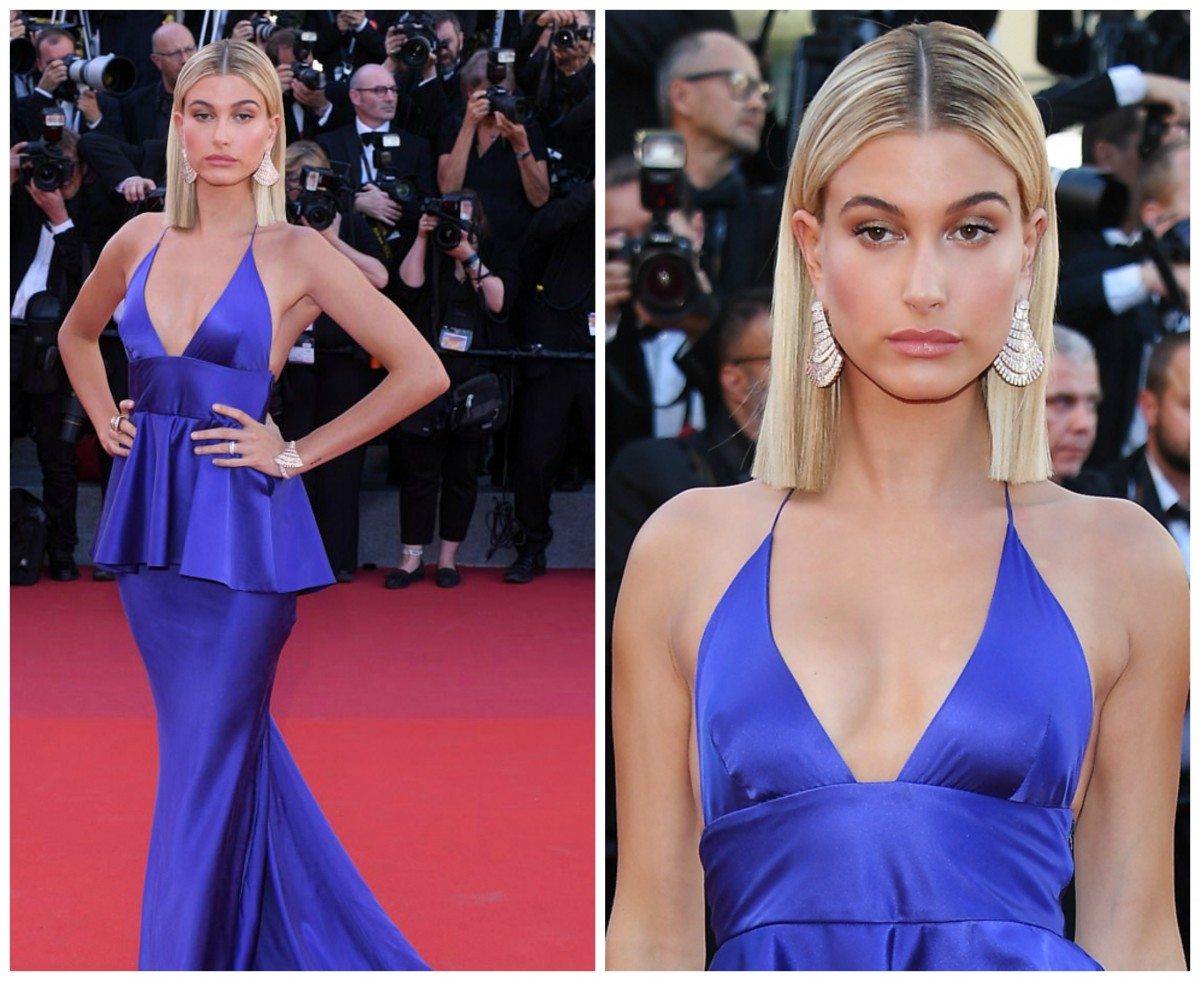 Hailey Baldwin Cannes 2017