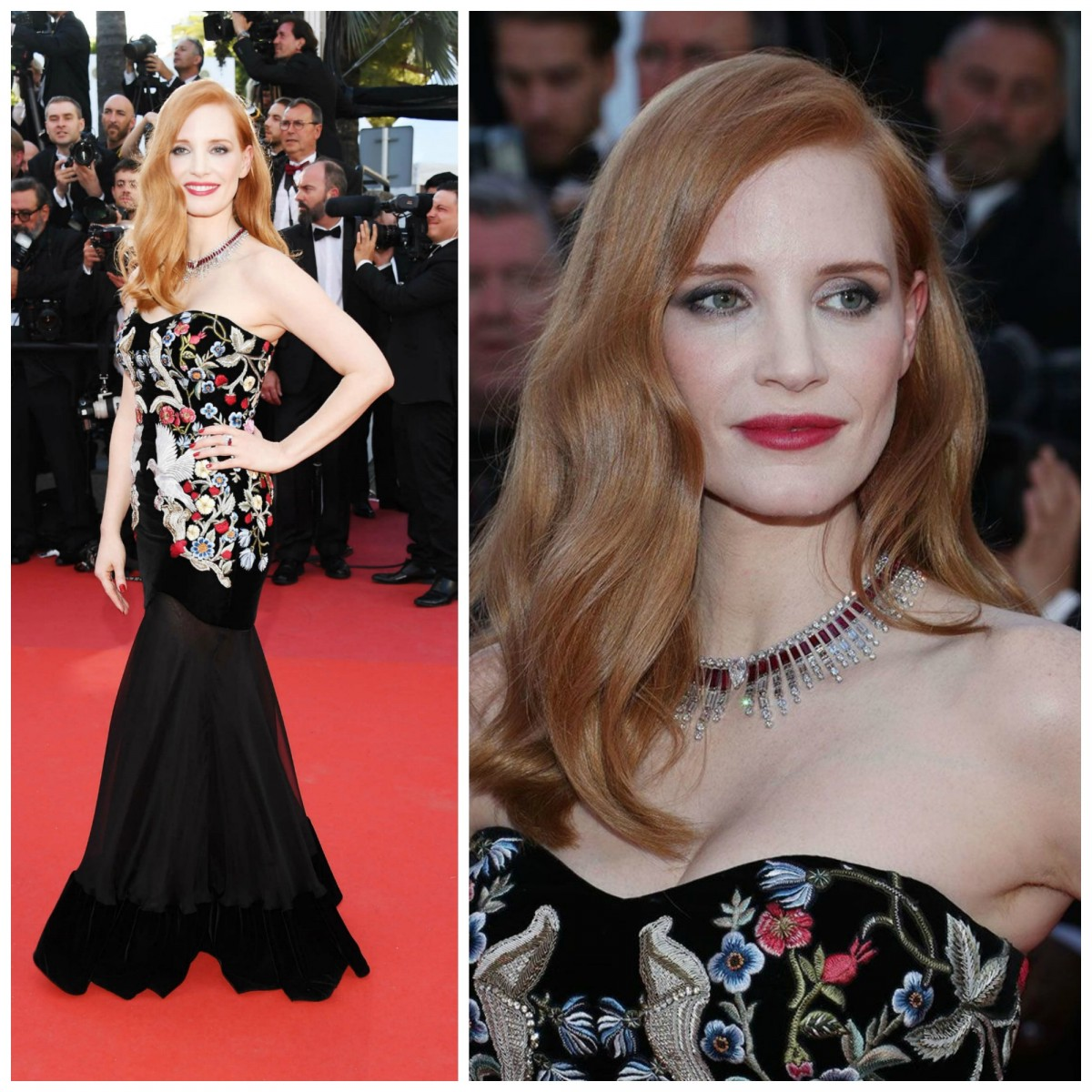 Jessica Chastain Cannes 2017