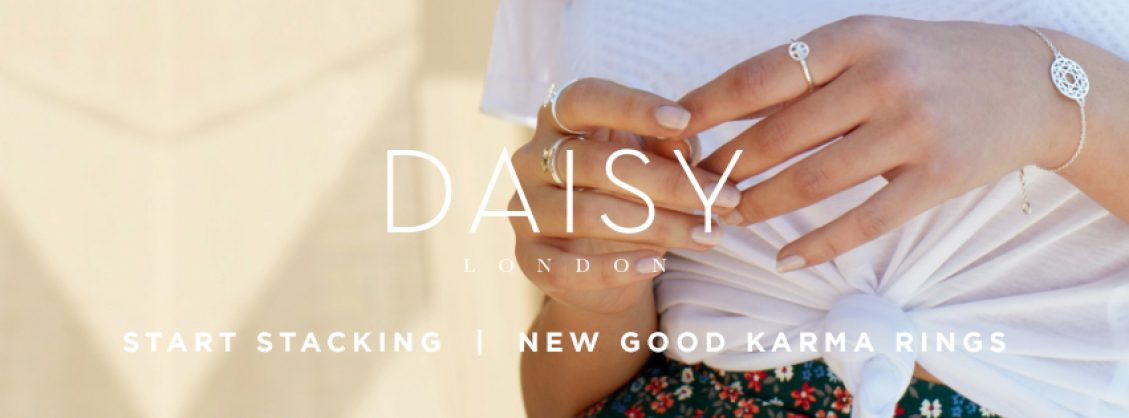 Daisy Good Karma Stacking Rings