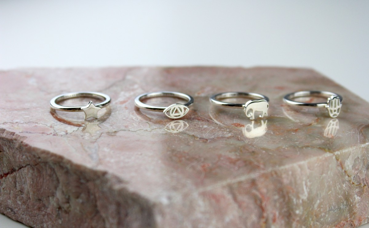 Daisy Good Karma Stacking Ring
