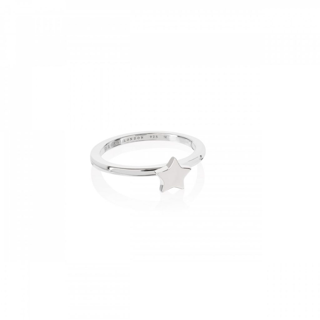 Daisy Good Karma Stacking Ring - Star