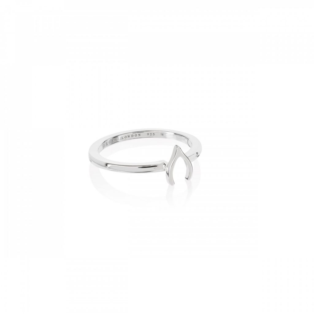 Daisy Good Karma Stacking Ring - Wishbone