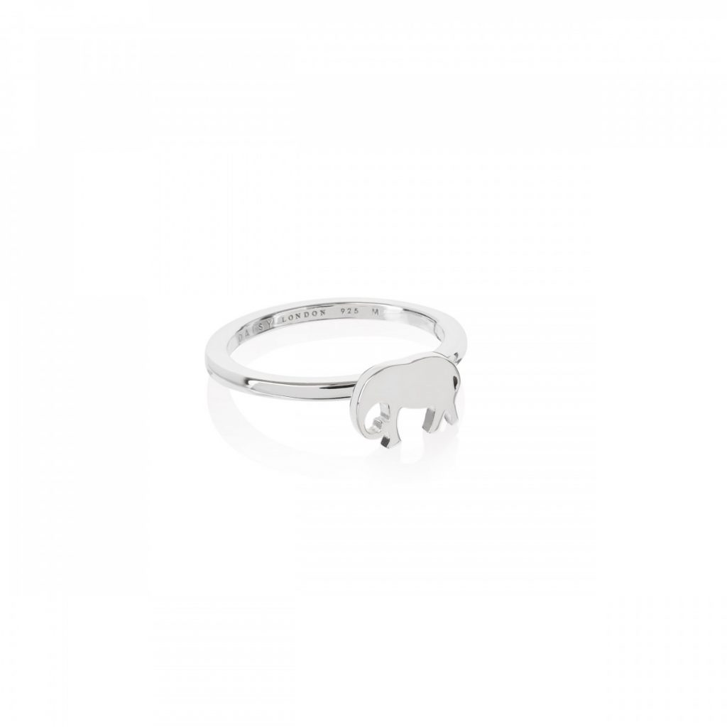 Daisy Good Karma Stacking Ring - Elephant