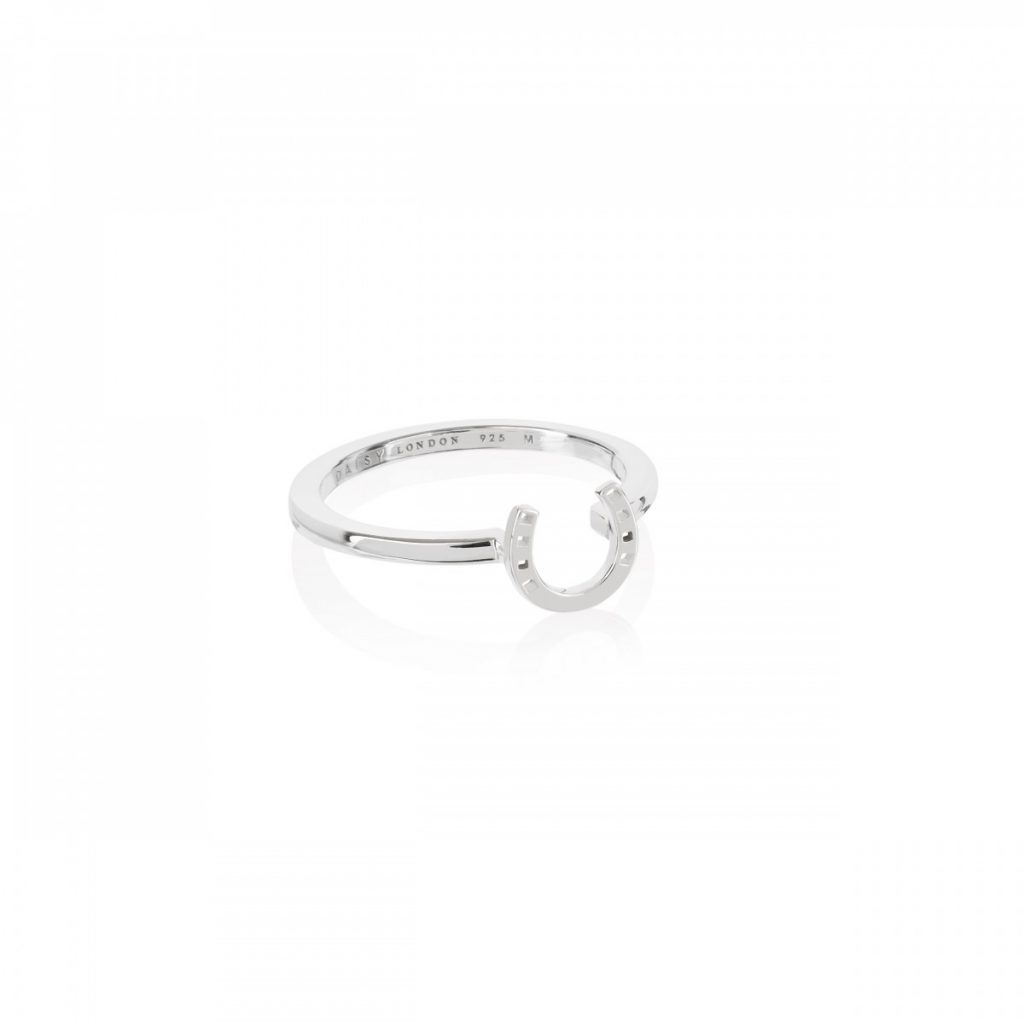 Daisy Good Karma Stacking Ring - Horseshoe