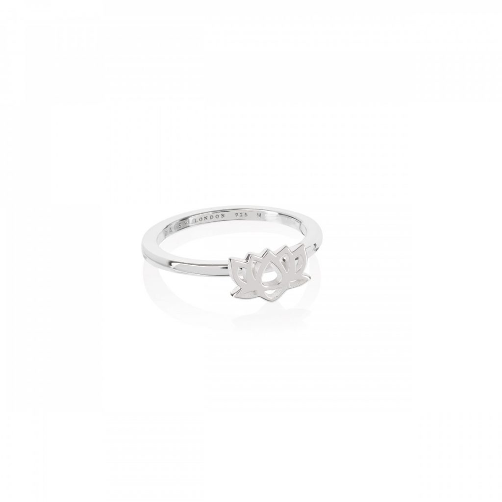 Daisy Good Karma Stacking Ring - Lotus