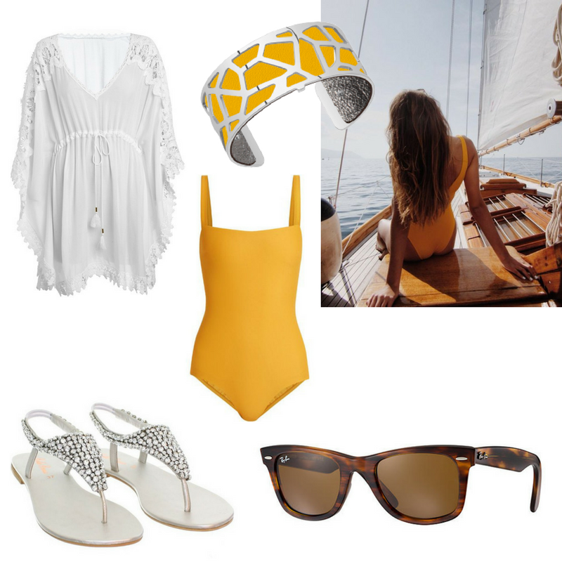 Les Georgettes - Yellow Bangle - Beachwear