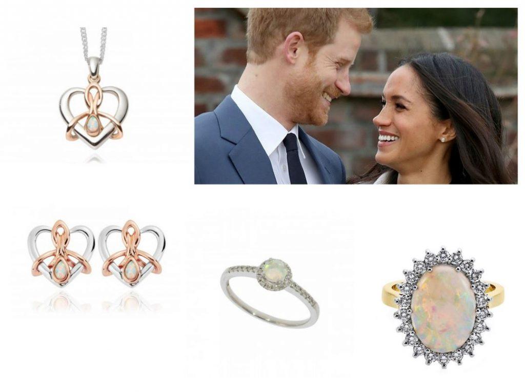 Meghan Markle Jewellery - Opal