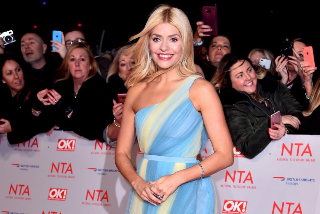 Holly Willoughby NTA's Outfit