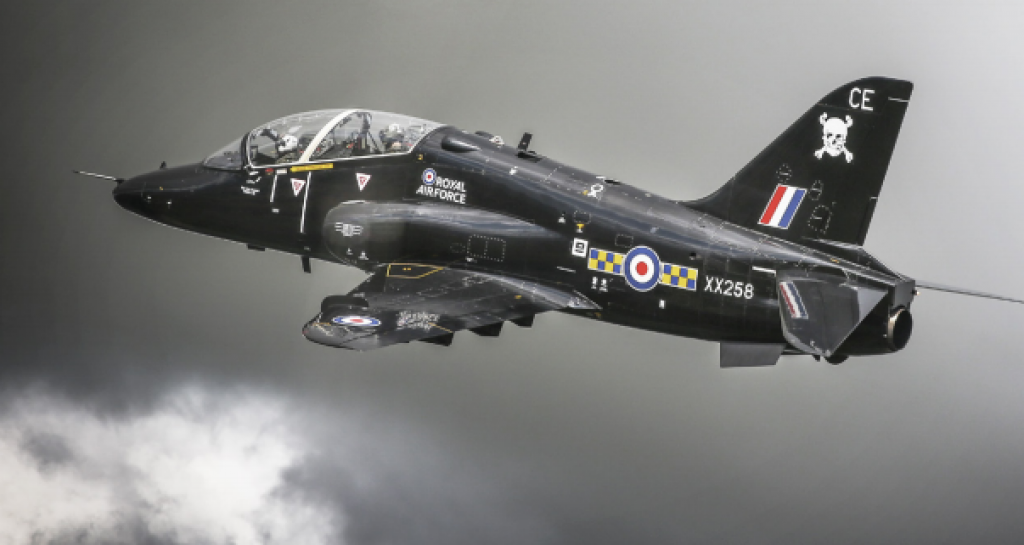 The U-2/51-JET takes design cues from a military project commissioned by the RAF's 100 Squadron and their Hawk T1 Jet aircraft