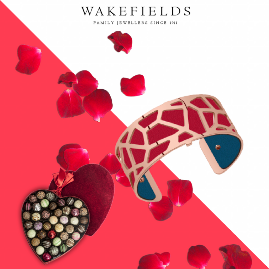 Les Georgettes Valentine's Day 2018 Bangle and Leather