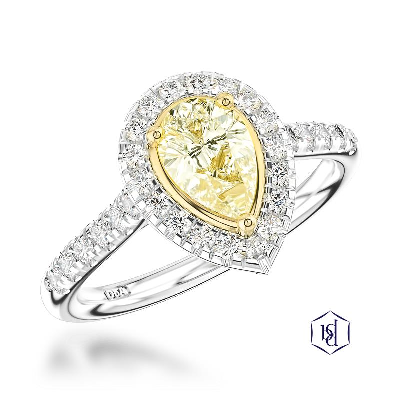 Pear Cut Diamond Ring at Wakefields Jewellers Horsham