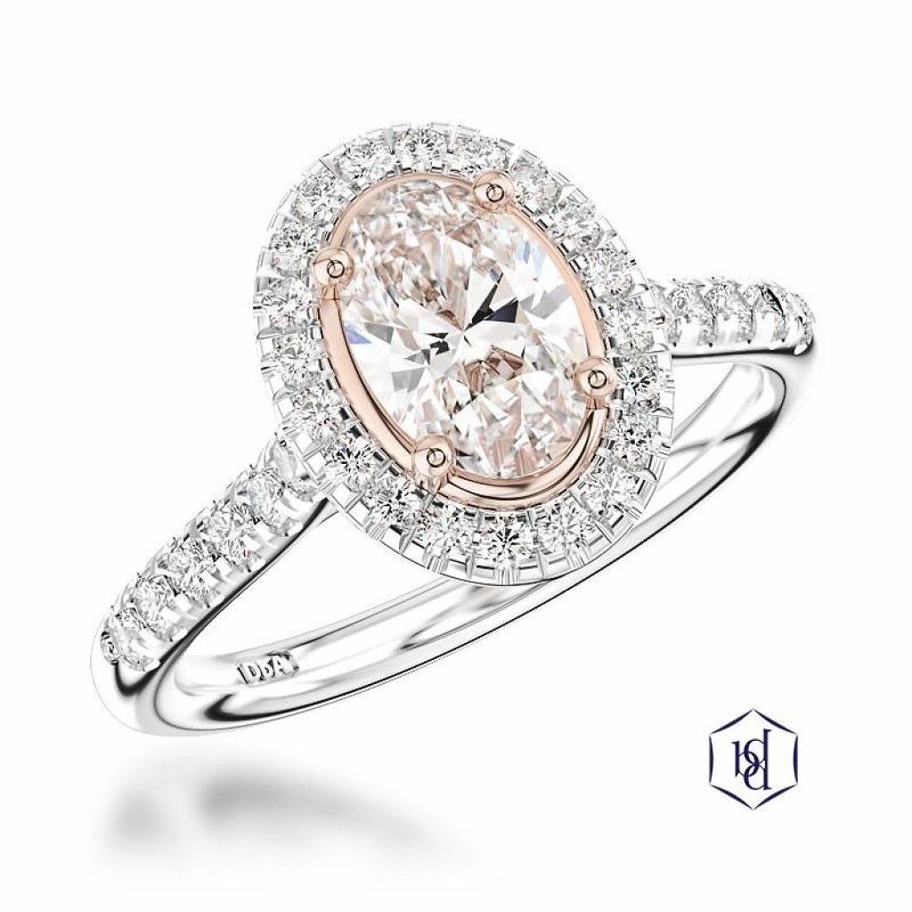 Engagement Ring - Blush Diamond Engagement Ring