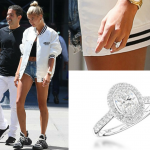 Hailey Baldwin Engagement Ring - Wakefields Jewellers Oval Cut