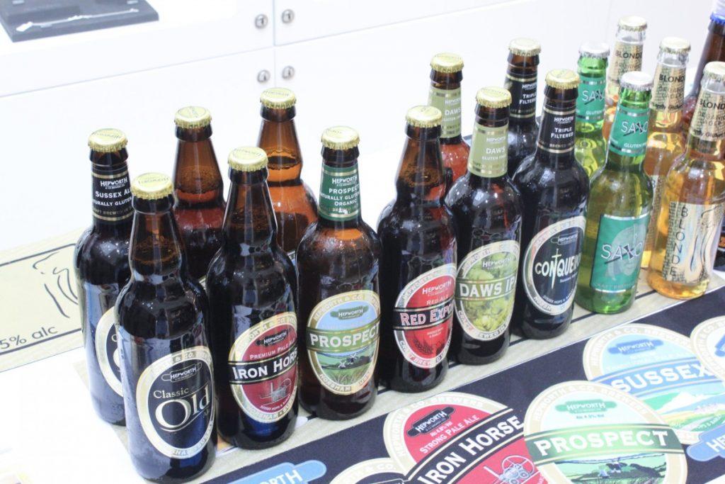 Hepworth Brewery Beer Selection