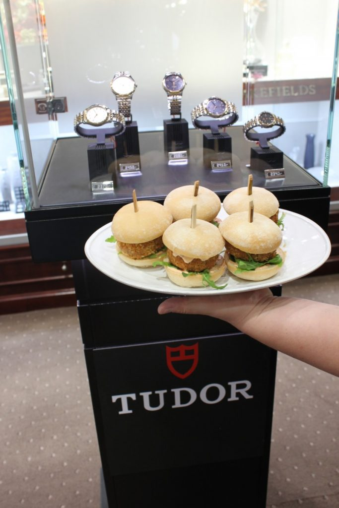 Alimento Catering at TUDOR Watch Event
