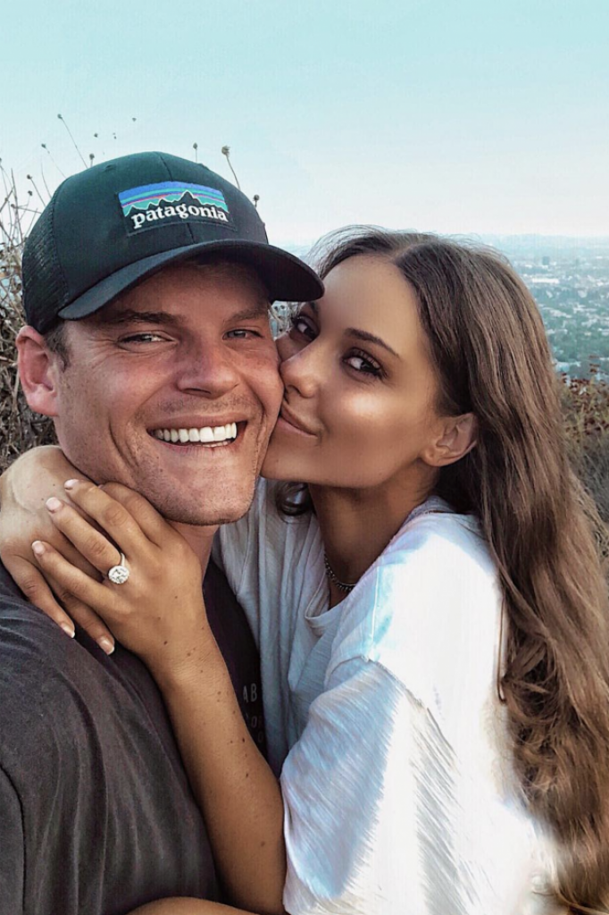 Louise Thompson Ryan Libbey Engagement Ring