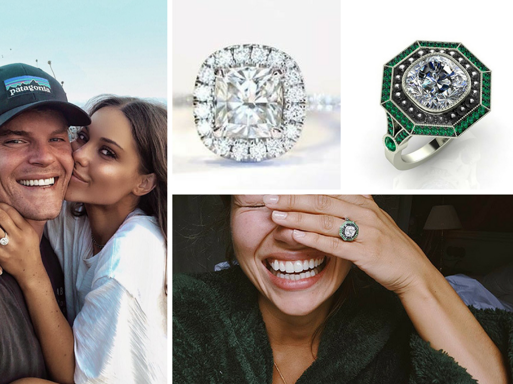 MIC Engagement Ring News - Proudlock & Louise Thompson