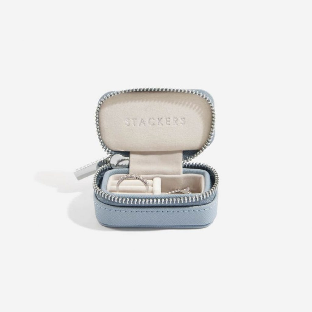 75339 - Blue Stackers Travel Jewellery Box Small - £17