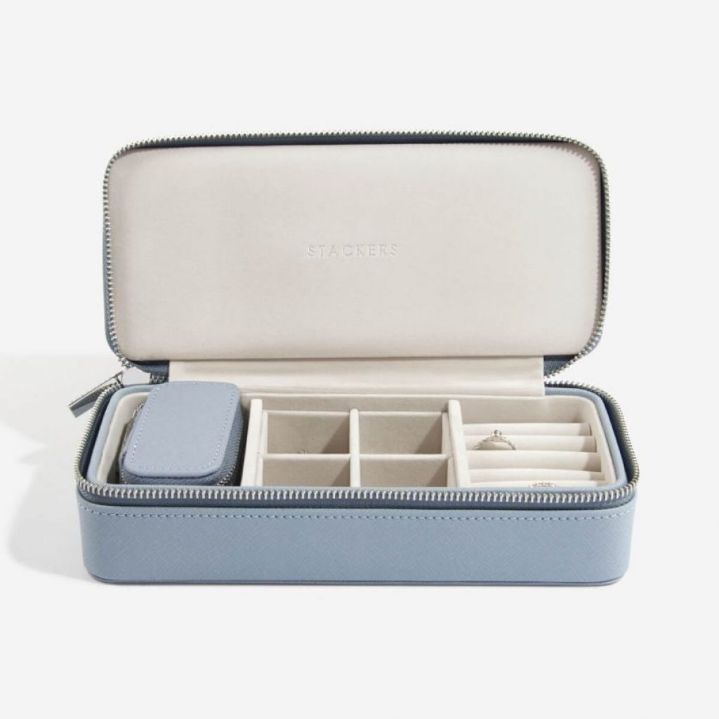 75345 - Blue Stackers Travel Jewellery Box Large - £52