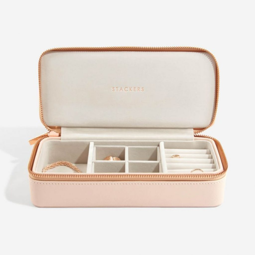 75346 - Pink Stackers Travel Jewellery Box Large - £52