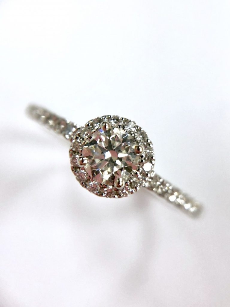 Poundland Placeholder Ring Dupe - Diamond Engagement Ring