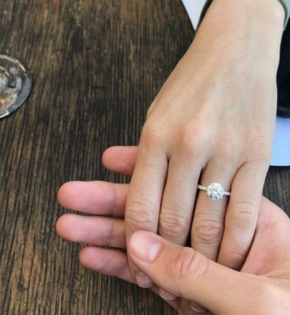 Brittany Snow Engagement Ring 1