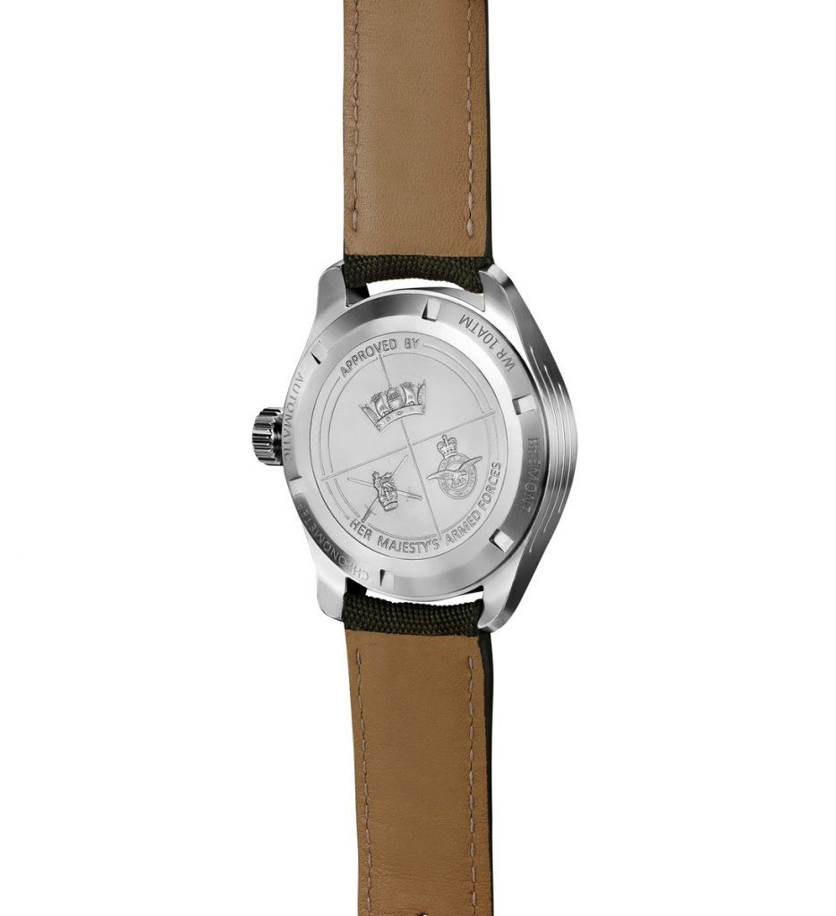 Bremont Broadsword Back