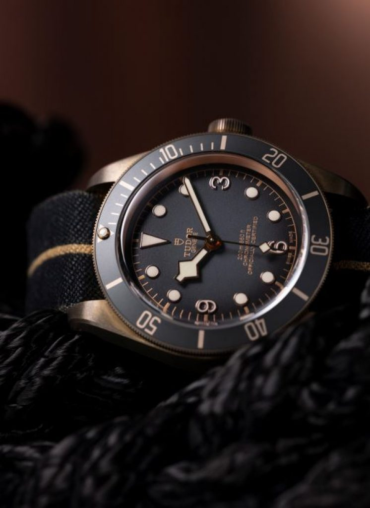 TUDOR Black Bay Bronze Slate Gray
