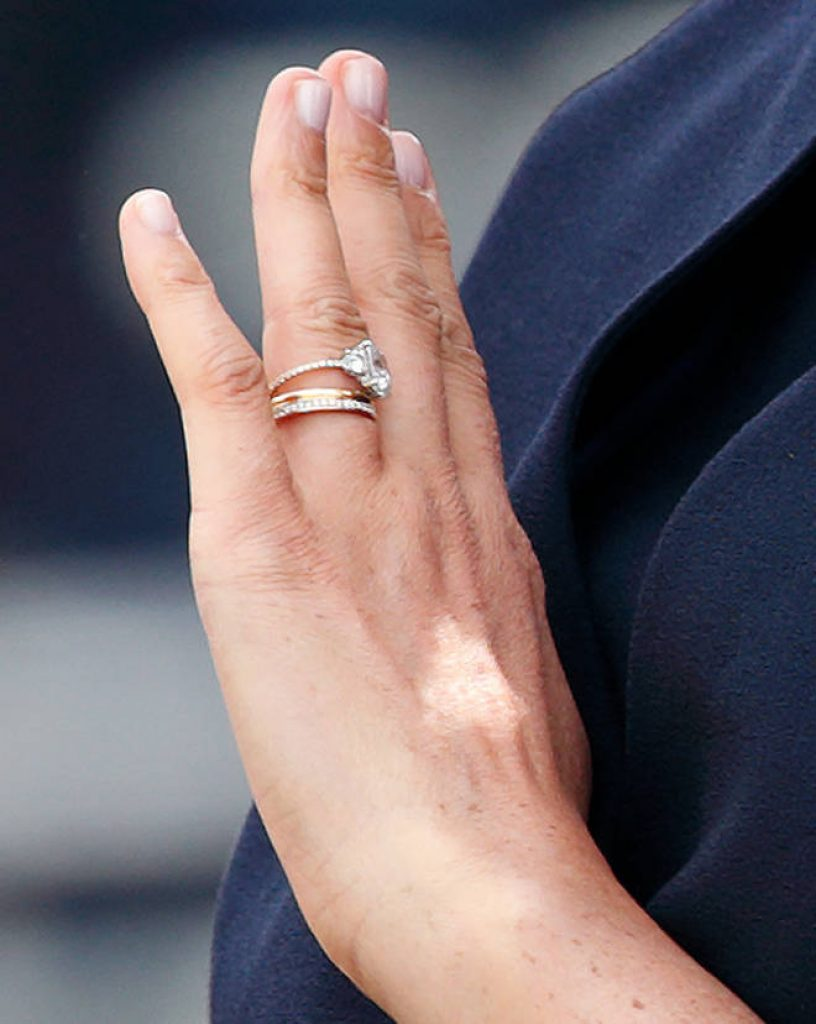 Meghan Markle Updates Engagement Ring More Diamonds