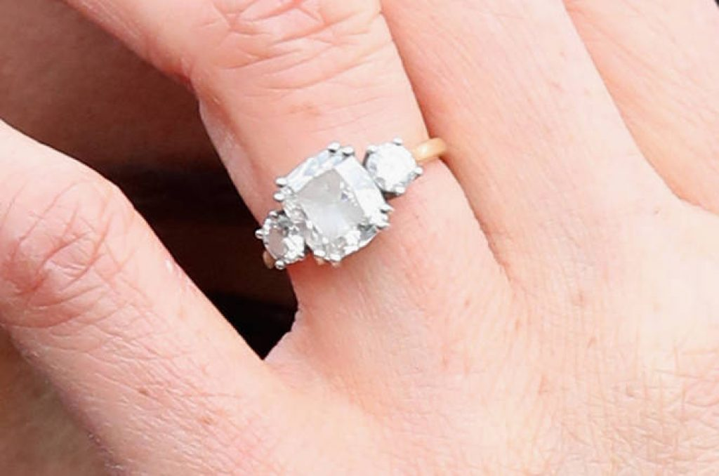 Meghan Markle Original Engagement Ring