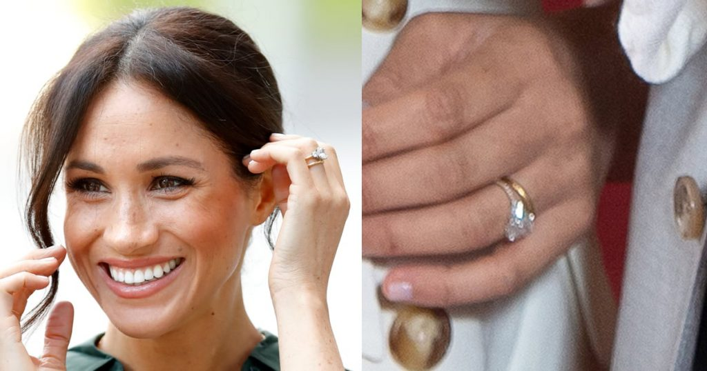 Meghan Markle Updates Engagement Ring More Diamonds (5)