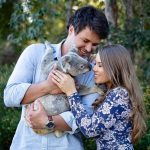 Bindi Irwin and Chandler Powell Engaged Hug in Instagram Photo with Koala Bear