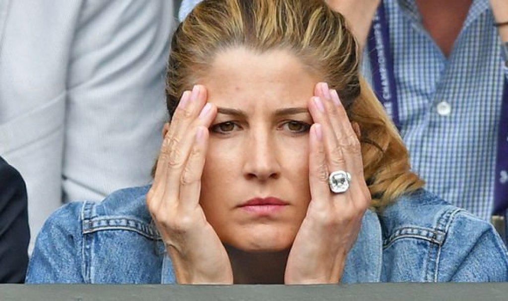 Mirka Federer Engagement Ring Wimbledon