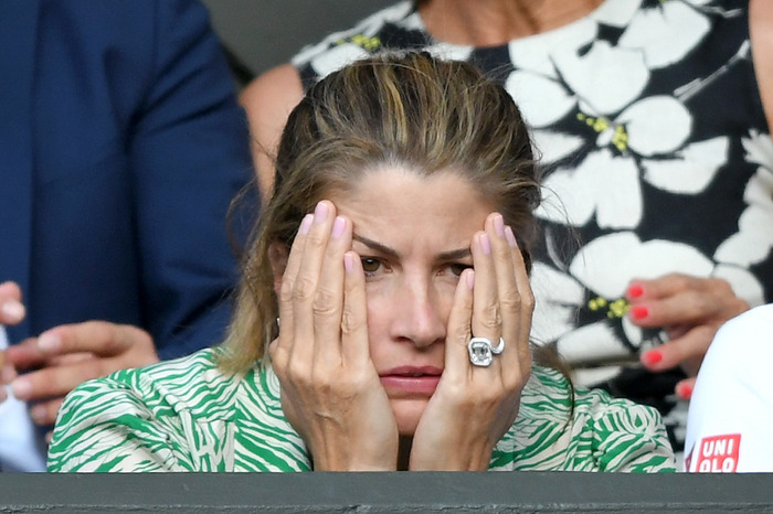Mirka Federer S Engagement Ring The Diamond That Distracted From