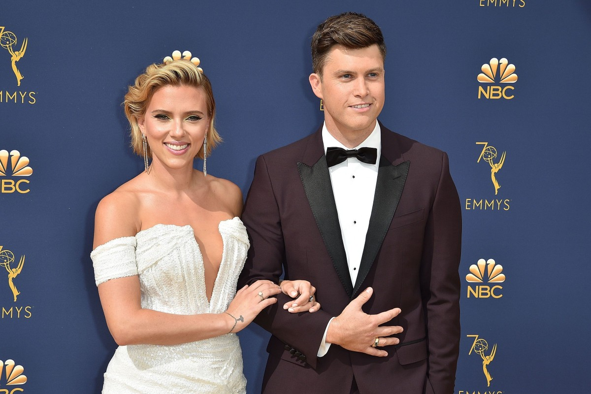 Scarlett Johansson Engagement Ring - Engaged Colin Jost