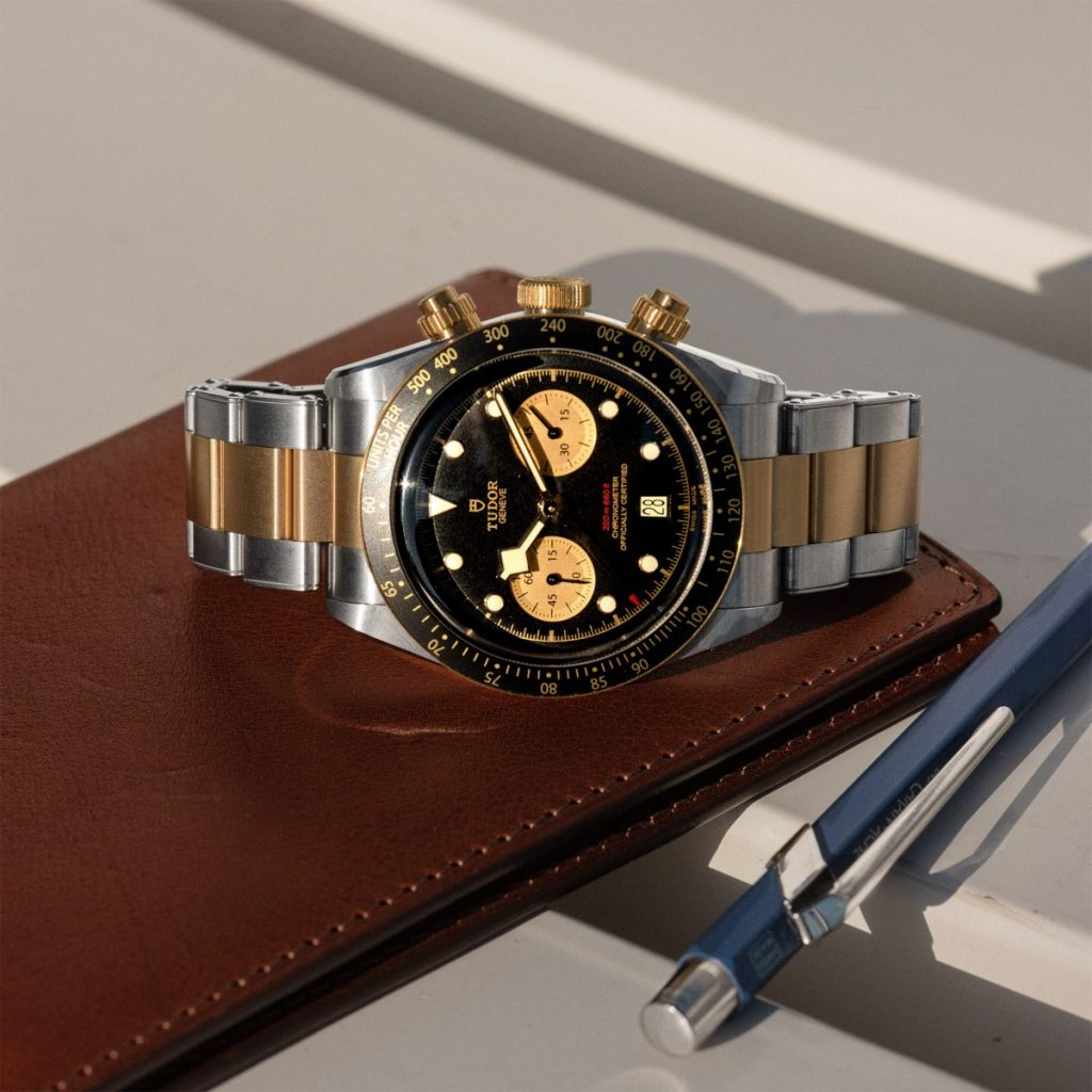 TUDOR Black Bay Chrono S&G Watch