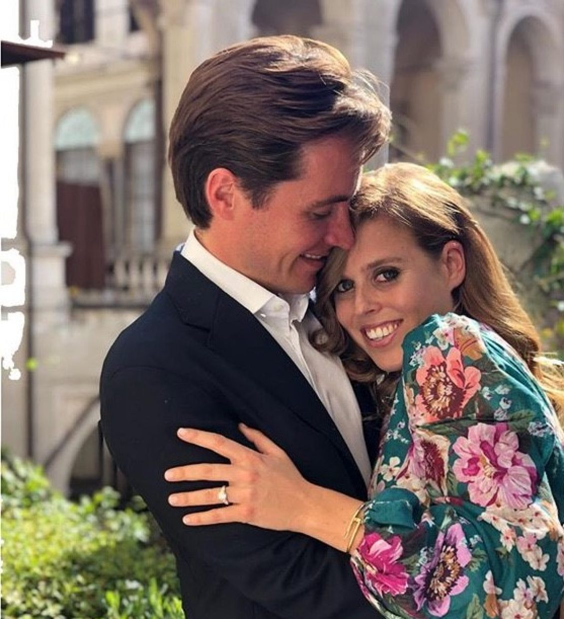 Princess Beatrice of York Engaged to Edoardo Mozzi - Shaun Leane Bespoke Diamond Engagement Ring