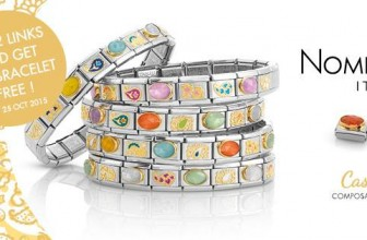 Brand Exclusive: Nomination Bracelet Promotion – Buy 2 Links Get the Bracelet FREE!