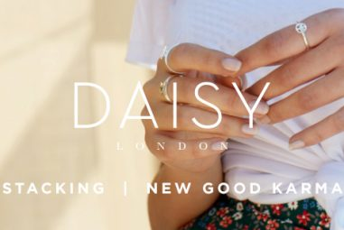Brand Exclusive: Introducing Daisy London's NEW Good Karma Stacking Rings