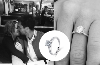 Double Take – How to Copy Brittany Snow's Round Brilliant Cut Diamond Engagement Ring!