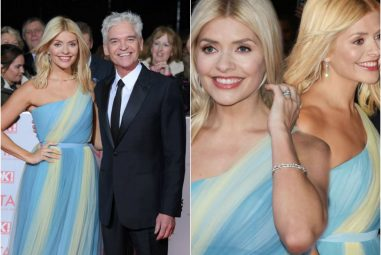 Double Take – How To Copy Holly Willoughby's NTA's Diamond Jewellery Style
