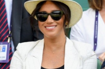 Style Steal: Meghan Markle's 'A' Initial Necklace – Personalised Jewellery