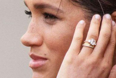 Meghan Markle's New Eternity Ring has a Secret Bespoke Design