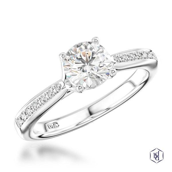 Lyal Engagement Ring, 0.5ct