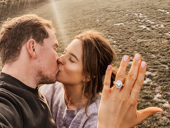 Binky Felstead's Engaged: Take A Closer Look at Her Stunning Diamond Engagement Ring