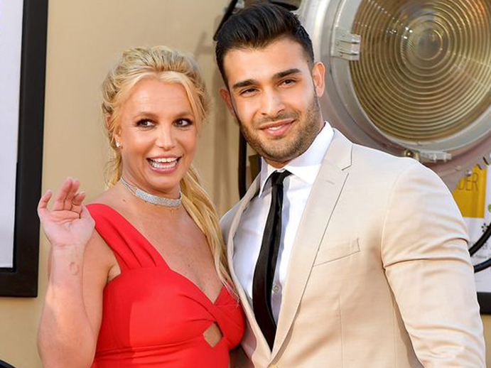 Britney Spears' Diamond Solitaire Engagement Ring